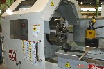 CNC LATHES: HAAS TL-4, HAAS CNC, 35 SWING, 91 CENTERS, 10.8 BORE, 55 SPINDLE HOURS, '08 (1509) FAM, Click to view larger photo...
