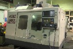CNC VERTICALS: HARDINGE CONQUEST VMC-700, FANUC 18M, 28 x 18 x 22, 8000 RPM, RIGID TAP, SIDE ATC, '97 (2055) FAM, Click to view larger photo...